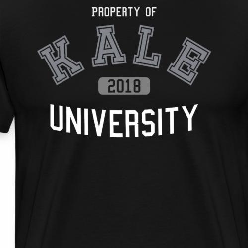Kale University - Grünkohl Universität - Veganer - Männer Premium T-Shirt