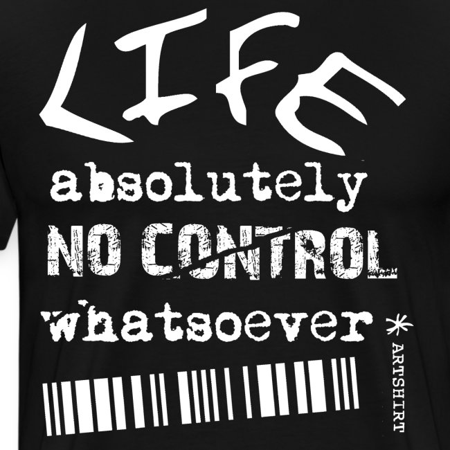 life no control tekst wit