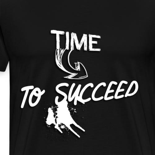 Het tijd - Mannen Premium T-shirt