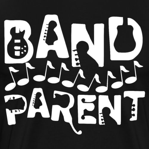 Musical Band Parent Music Notes White