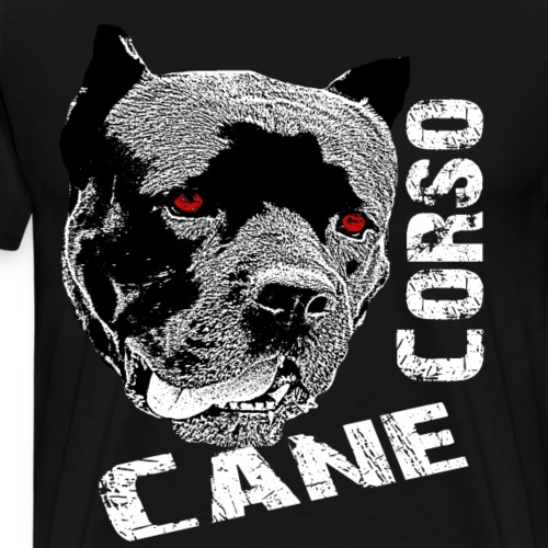 Cane Corso, Bulldogge,Kampfhund,Hundekopf,Hunde - Männer Premium T-Shirt