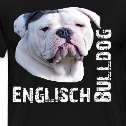 Bulldogge,Englisch Bulldogge,Bulldog,Hundeliebe, - Männer Premium T-Shirt