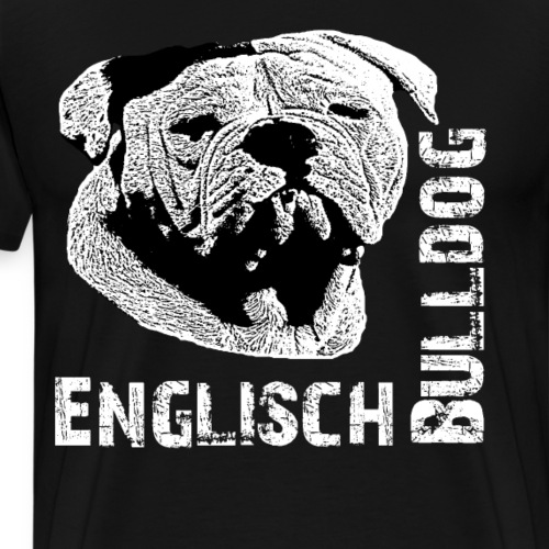 Englische Bulldogge ,Bulldog,Bully, Doggen,Hunde - Männer Premium T-Shirt