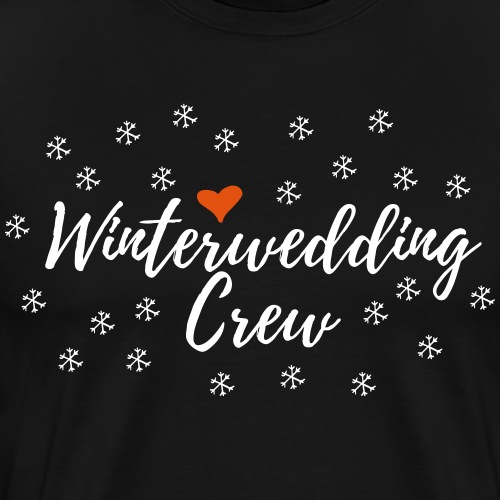 Winter Hochzeit Crew Team Junggesellenabschied JGA - Männer Premium T-Shirt