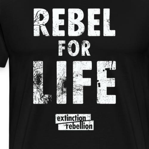 extinction rebellion just rebel - Männer Premium T-Shirt