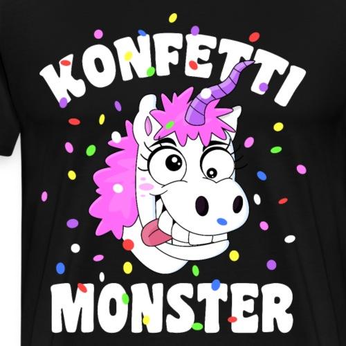 Konfetti Monster Einhorn