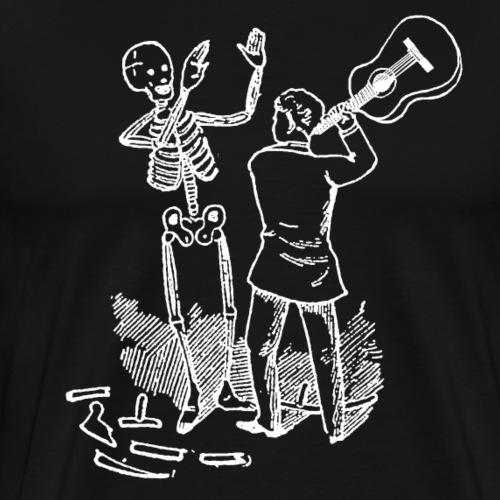 DFBM unbranded white - Men's Premium T-Shirt
