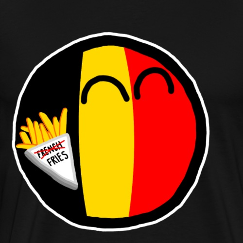 Belgiumball - Men's Premium T-Shirt