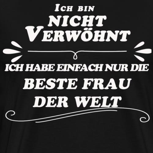 Beste Frau der Welt - Männer Premium T-Shirt
