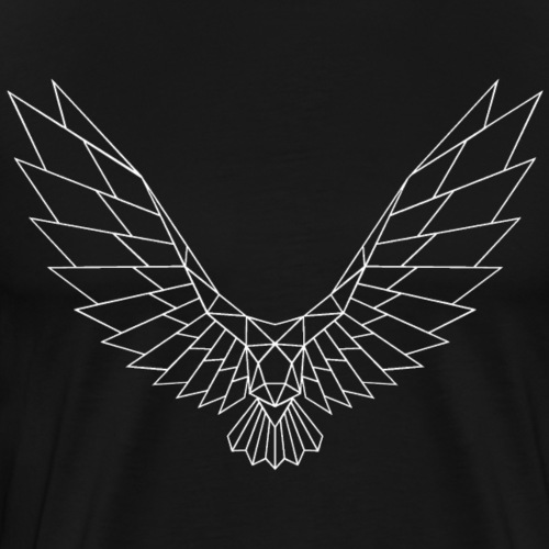 Be Free Whitebird Edges Collection - Männer Premium T-Shirt
