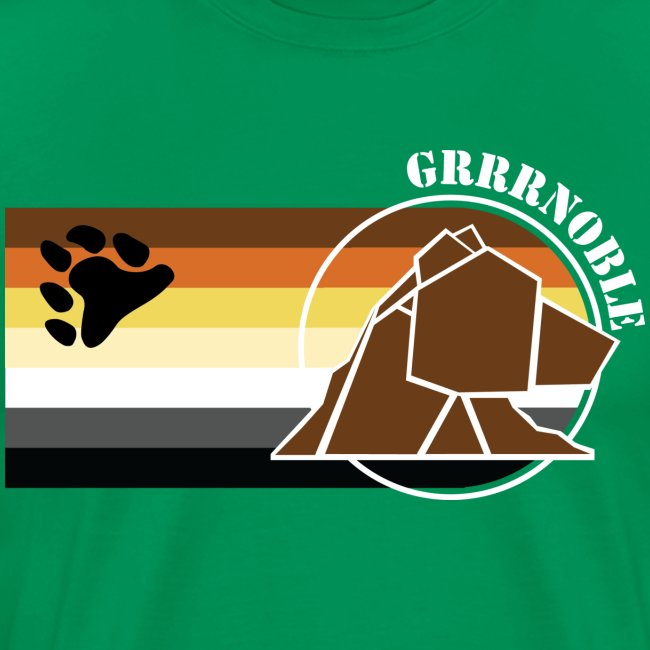 Logo 3 GRRRNOBLE BEAR ASSOCIATION