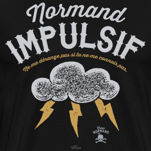 Normand Impulsif - T-shirt Premium Homme