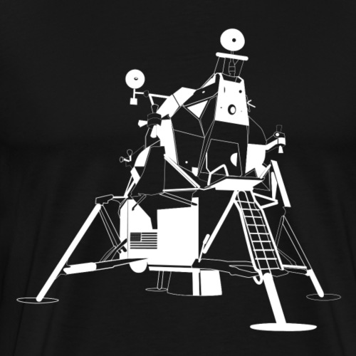 apollo-11- - Men's Premium T-Shirt