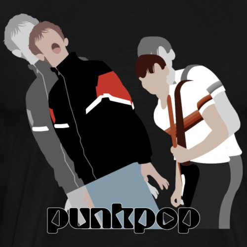 Girls and Boys PunkPop - Maglietta Premium da uomo