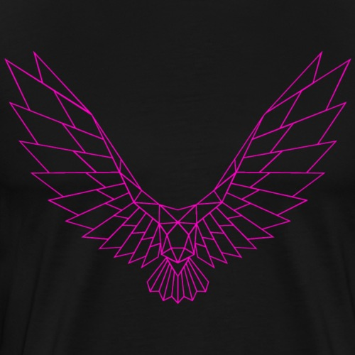 Be Free Pinkbird Edges Collection - Männer Premium T-Shirt