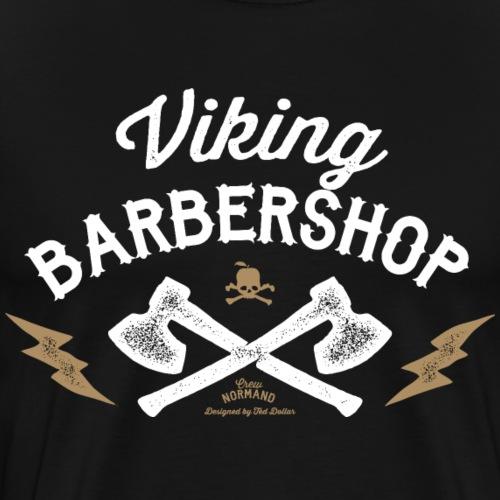 Viking Barbershop - T-shirt Premium Homme