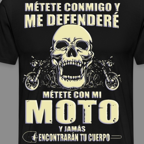Me defenderé - Camiseta premium hombre