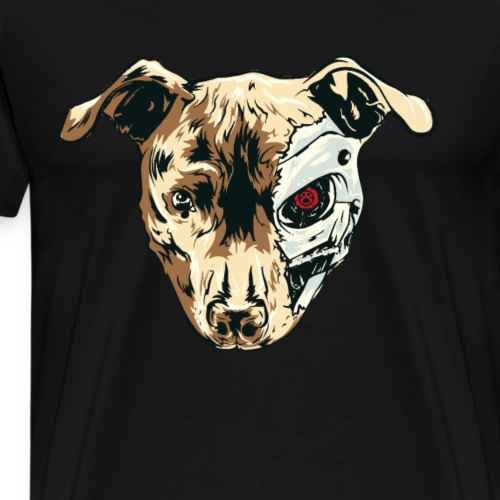 Der Terminahund ist das Haustier vom Terminator - Männer Premium T-Shirt