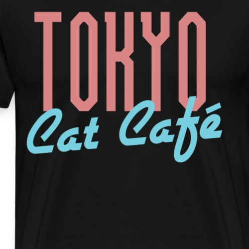 Tokyo Katzen Café Hobby Katze Haustiere - Männer Premium T-Shirt