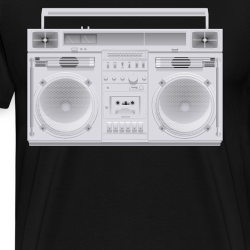Bestes Stereo weiß Design online - Männer Premium T-Shirt