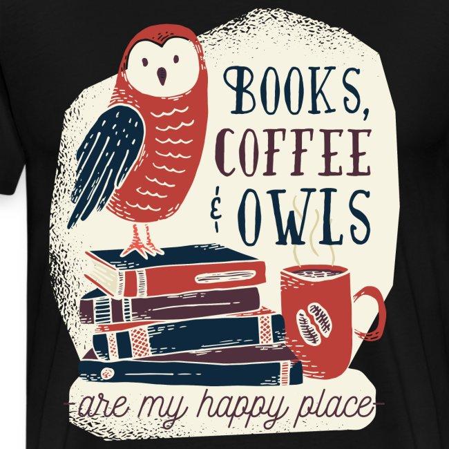 Bestes Bücher Kaffee Eulen online Design