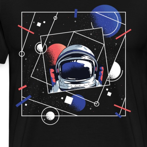 Beste Astronaut Weltraum Designs - Männer Premium T-Shirt