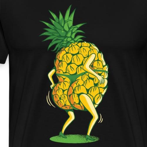 Bestes Ananas Tanz Design online - Männer Premium T-Shirt