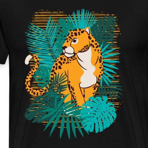 Beste Gepard Design - Männer Premium T-Shirt