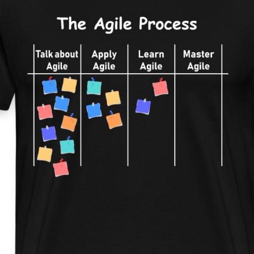 Agile Process AOE Projekt Prozessmanagement - Männer Premium T-Shirt