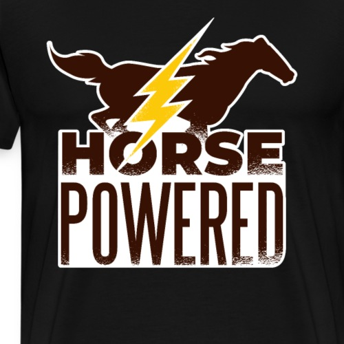 Horse Powered - Männer Premium T-Shirt