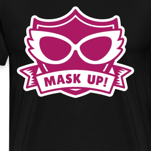 Mask up Cosplay - Männer Premium T-Shirt
