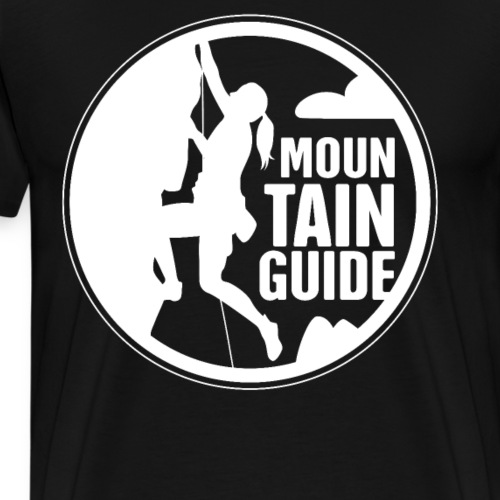 Mountain Guide Climbing - Männer Premium T-Shirt