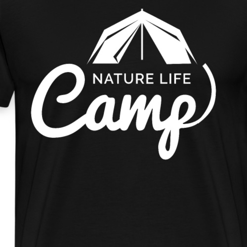 Nature Life Camp - Männer Premium T-Shirt