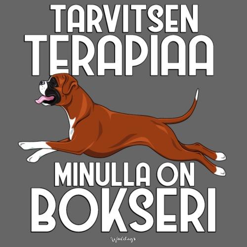 bokseriterapiaa3 - Miesten premium t-paita