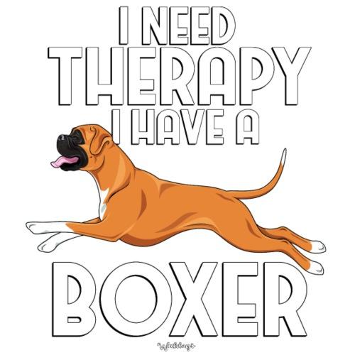 Boxer Therapy 9 - Miesten premium t-paita