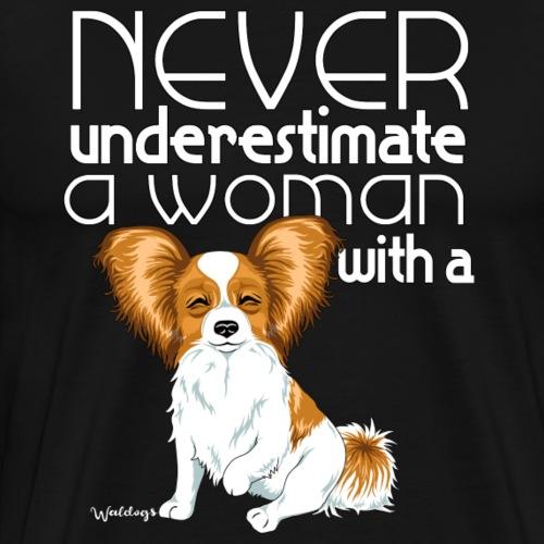 papiunderestimate2 - Men's Premium T-Shirt