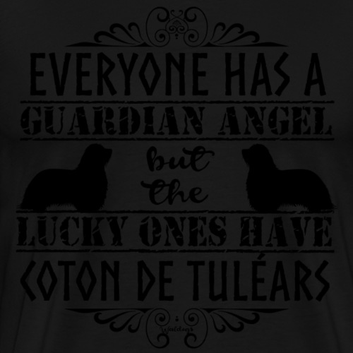 Coton De Tuléar Angels3 - Men's Premium T-Shirt