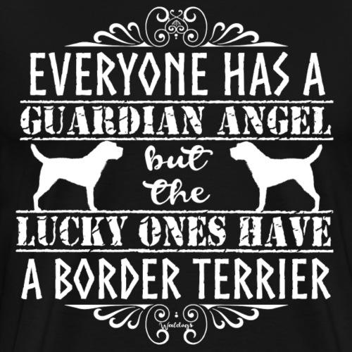 borderterrierangels - Men's Premium T-Shirt