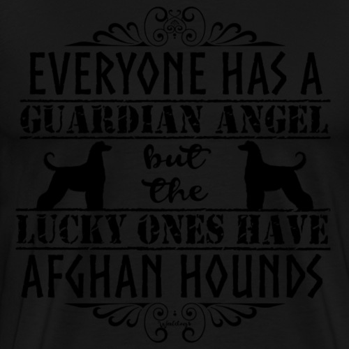 Afghan Hound Angels - Men's Premium T-Shirt