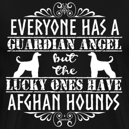 Afghan Hound Angels 2 - Men's Premium T-Shirt