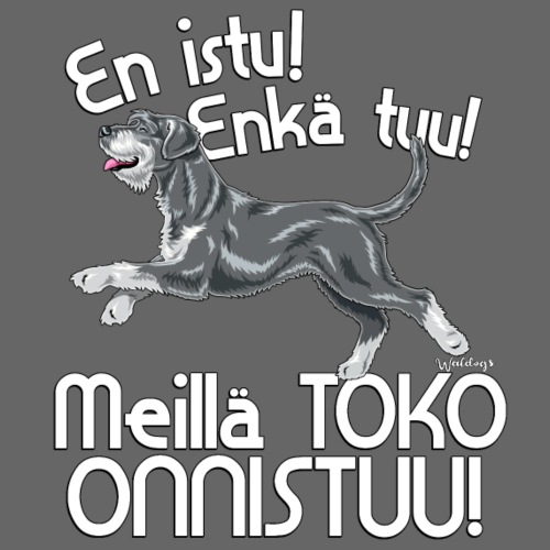 Suursnautseri Riiseni Toko - Miesten premium t-paita