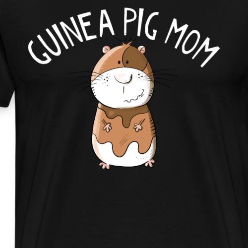Meerschweinchen Mama I Nagetier Comic - Männer Premium T-Shirt
