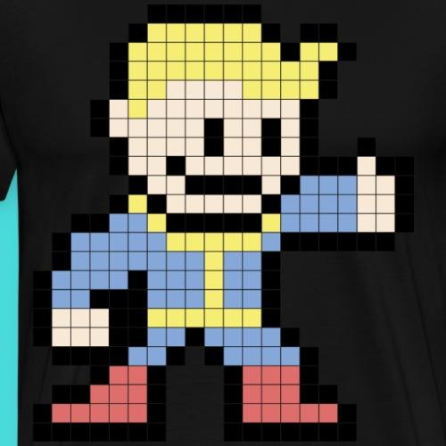 Vault Boy 8bit - Männer Premium T-Shirt