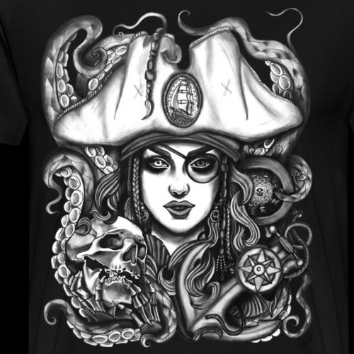 Piratin - Männer Premium T-Shirt
