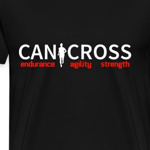 Canicross | Hundesport Fitness Joggen Geschenk - Männer Premium T-Shirt