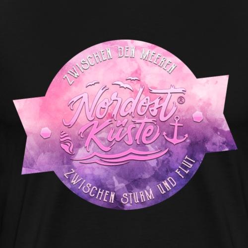 Nordost Küste Lila Edition - Männer Premium T-Shirt