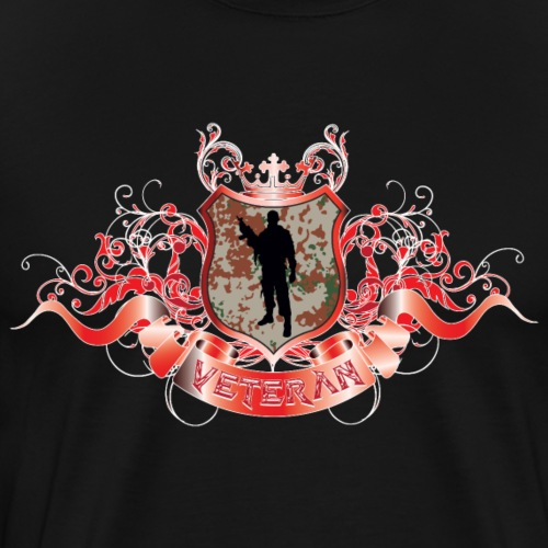 HaraldicSkjoldM84Desert - Herre premium T-shirt