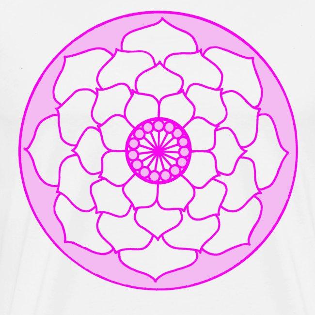Pink Lotus Flower Mandala