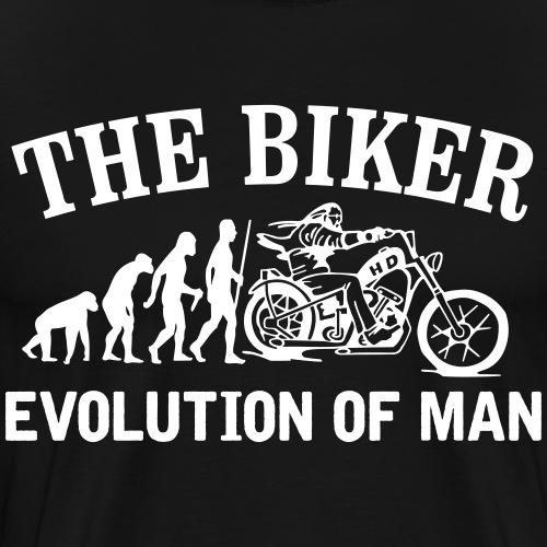 Evolution of man - Camiseta premium hombre