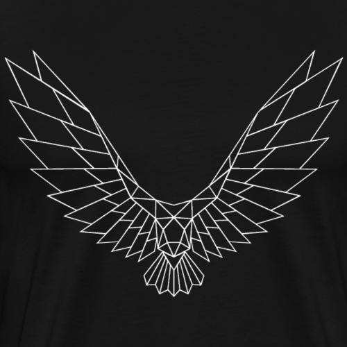 Be Free Whitebird Edges Collection - Männer Premium T-Shirt
